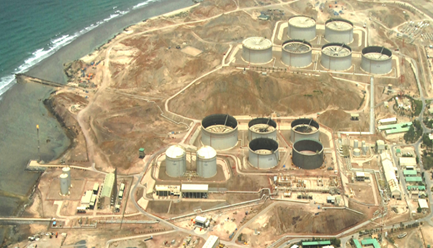 CRUDE OIL STORAGE TANK AND ASSOCIATED FACILITIES AT HALUL